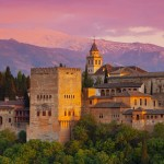Alhambra-Palace-at-Sunset-Granada-Spain